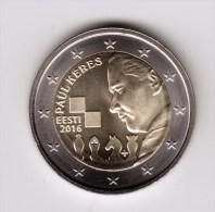 @Y@    Estand  2 Euro Commemorative 2016  UNC - Estonie