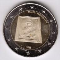 @Y@    Malta   2 Euro Commemorative 2015  UNC   Republic - Malta