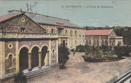 Liban - Beyrouth - Ecole De Médecine - 1921