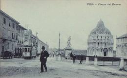 Italie - Pisa - Piazza Del Duomo - Tramway - Marbrier Marble Works - Pisa