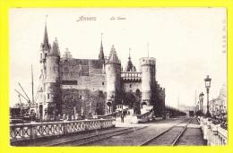 * Antwerpen - Anvers - Antwerp * (E.V. à B., Nr 18) Le Steen, Chateau, Tramway, Port, Schelde, Escaut, Kasteel, Musée - Antwerpen