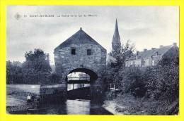 * Saint Ghislain (Hainaut - La Wallonie) * (SBP, Nr 21) La Vanne Et La Rue Du Moulin, Canal, Rare, TOP CPA, Unique - Saint-Ghislain