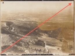 Grande Photo Militaire Aérienne 1918 De Janvry Reims Marne - Guerre, Militaire