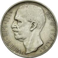 Monnaie, Italie, Vittorio Emanuele III, 10 Lire, 1927, Rome, TTB, Argent - 1900-1946 : Vittorio Emanuele III & Umberto II