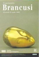 """Carte Postale édition """"Dix Et Demi Quinze"""" - Constantin Brancusi - Centre Georges Pompidou - Reclame"""