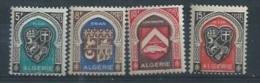 """ALGERIE : Y&T** N° 268-271  """" Armoiries De Villes """" - Algérie (1924-1962)"""