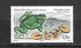 St Pierre Et Miquelon : Grenouille Verte. - Kikkers