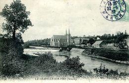 N°46785 -cpa La Chapelle Sur Vire - - Autres Communes