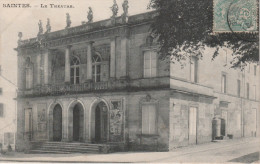 CPA De 1907. SAINTES - Le Théatre - Saintes