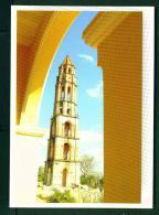 CUBA  -  Trinidad  Torre Iznaga  Unused Postcard - Cuba