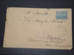 POLOGNE - Env Scellée (voir Dos) De Komza Pour Varsovie - Mai 1922 - A Voir - P16147 - 1919-1939 République