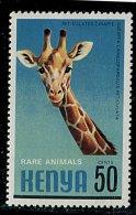(cl.12 - P.23) Kenya ** N° 199 (ref. Michel Au Dos) - Girafes - - Girafes