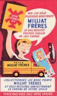 Pates Milliat Frères  - Format  10,5 X 17,5  Cm - Alimentaire