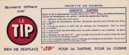Le Tip  (margarine ?) Recette De Cuisine  - Format  9 X 21 Cm - Alimentare