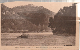 CPA Début 1900. PLAN-du-VAR.  La Roquette-sur-Var, Prise De La Vésubie - France