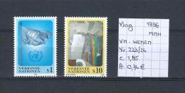 Vlag - VN Wenen 1996 - Yv. 223/24 Postfris/neuf/MNH - Timbres