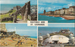 St. Leonards Old Postcard Not Travelled Bb160202 - England