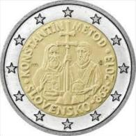 2 EUR 2013 - SLOWAKIJE UNC - 1150 Jaar Konstantin & Metod - Slovakia