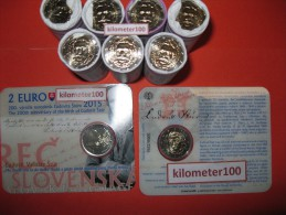2 EUR 2015 - SLOWAKIJE UNC - 200 Jaar Geboortedag Ludovit Stur - Slovaquie