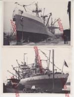 Au plus rapide ensemble 2 photos bateau Sainte H�l�ne Marseille beau format 13 par 18 cm voiture ancienne