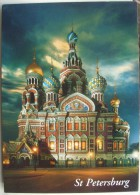 St. Petersburg - The Church Of The Resurrection Of Christ - Russie