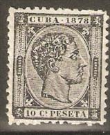 CUBA 1878 EDIFIL 45* VALOR CLAVE 116 € - Cuba (1874-1898)