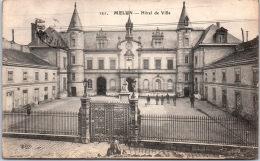 77 MELUN --- Cour De L'hotel De Ville - Melun