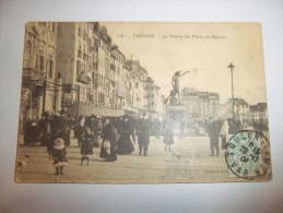 4ho - CPA N°74 - TOULON - Le Carré Du Port, La Mairie - [83] -  Var - - Toulon