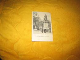 CARTE POSTALE ANCIENNE CIRCULEE DATE ?. / PARIS.- STATUE DE LEDRU ROLLIN. / CACHETS + TIMBRE - Statues
