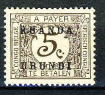 COB Tx9 *  (RU9) - Ruanda-Urundi