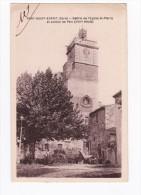 1930- PONT SAINT ESPRIT - BEFFROI DE L'ÉGLISE ST PIERRE ET JUSTICE DE PAIX (XVII) - Pont-Saint-Esprit