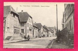 68 HAUT-RHIN DANNEMARIE, Route De Belfort, Animée, Landeau, 1916, (Chadourne, Belfort) - Dannemarie