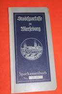 Altes Sparbuch , Merseburg 1944 , Sparkasse , Bank , Post !!! - Banque & Assurance