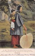 ¤¤  -    CHINE   -  HONGKONG  -  Chinoise Avec Un Enfant En 1913  -   Oblitération   -  ¤¤ - Chine