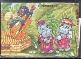 Europe 1999 - Ferrero - Cartoons, Hippo, Music Instruments, Wedding - Francobolli
