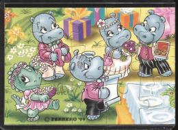 Europe 1999 - Ferrero - Cartoons, Dinosaurs, Hippo, Wedding - Francobolli