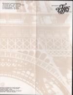 Menu TOUR EIFFEL 1967 - Confédération De La Charcuterie De France, Syndicats Paris Et Seine Et Oise - Menus