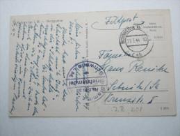 1944 , SCHWERIN    Feldpostbeleg mit Truppensiegel