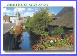 Carte Postale 27. Breteuil-sur-Iton    Trés Beau Plan - Breteuil
