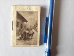 LIMOGES, MINI AGENDA  ,1923, MERCERIE BONNETERIE, ANDRE GEANTY - Kalenders