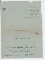 Corr. Aumônier R. JAVELET-n°78 Pertes Au 21e D'Epinal. Officier BREUIL- Les Horreurs De La Guerre -5 Octobre 1939 - 1939-45