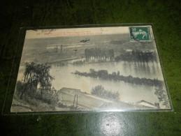 CP ANCIENNE  BEZIERS N 208  LA CRUE DE L'ORB  7 11 1907 - Beziers