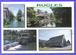 Carte Postale 27. Rugles  Trés Beau Plan - France