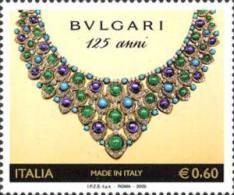 ITALIA REPUBBLICA ITALY REPUBLIC 2009 MADE IN ITALY FONDAZIONE DELLA GIOIELLERIA BULGARI MNH - 6. 1946-.. Republic