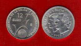 2002 - España - 12 Euro - Monedas - ES-015 - Espagne
