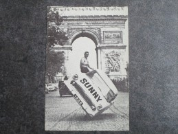 JEAN SUNNY Cascadeur Sur Les Champs-Elysées - Automobiles