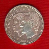 2001 - España - Monedas - ES-001 - [5] 1949-…: Monarchie