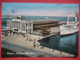 Trieste  - Stazione Marittima / Nave Gerusalemme - Trieste