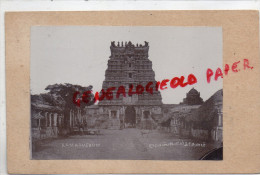 INDE - MADRAS- RAMASVERUM - CARTE PHOTO 1914 - India
