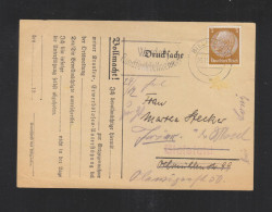 Dt. Reich PK Arbeitsfront Bielefeld 1937 - Briefe U. Dokumente